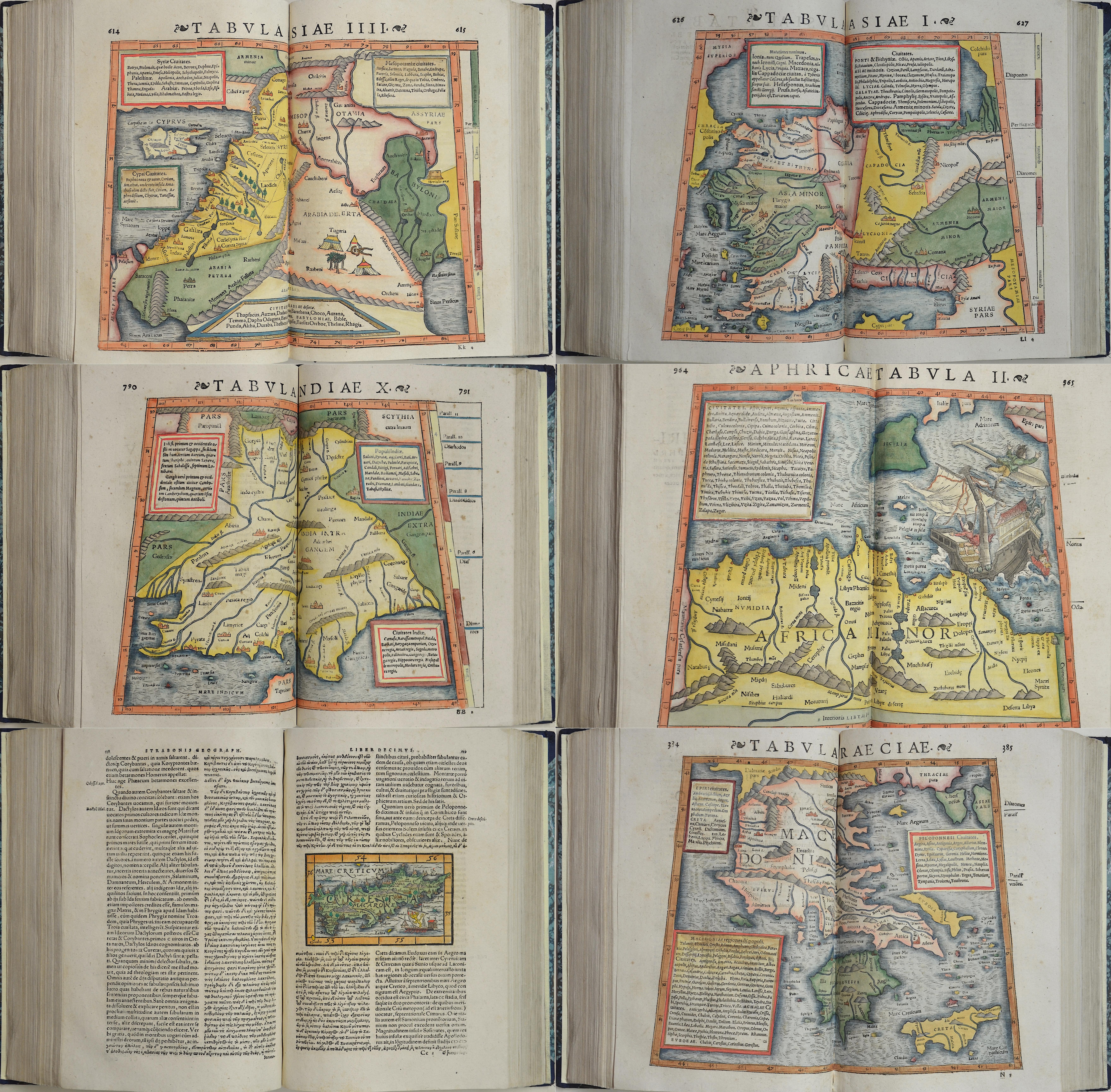 Strabo  Strabonis Rerum Geographicarum Libri Septemdecim.