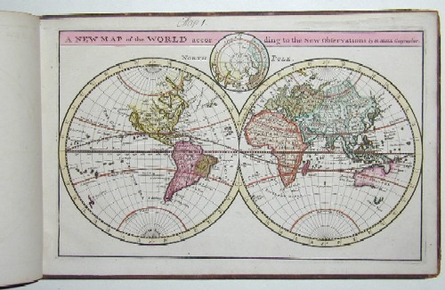 Moll Hermann Twenty four New and Accurate Maps of the Parts of europe