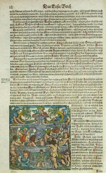Münster Sebastian Das Erste Buch/ Erderich hat seine wasser adern