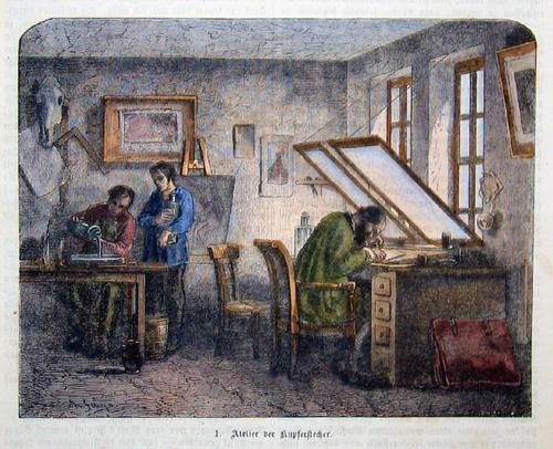 Anonymus  Atelier der Kupferstecher