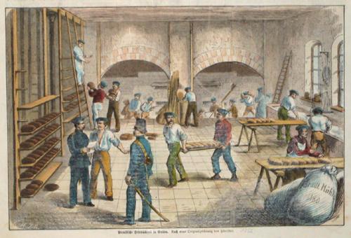 Anonymus  Preussische Feld Bäckerei in Guben