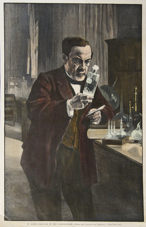 Edelfelt  M. Louis Pasteur in his Laboratory.