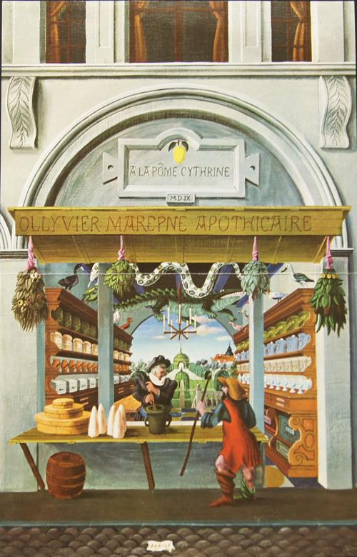 Rousse- Laboratoires  Pharmacie du XVI siecle