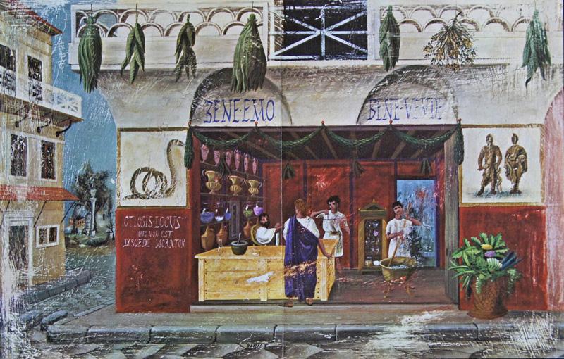 Rousse- Laboratoires  Pharmacie Romaine du XI