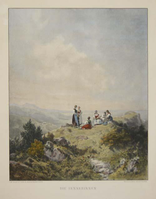 Bruckmann F. Die Sennerinnen