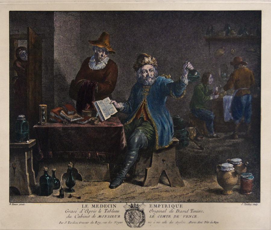 Tardieu Jean Baptiste Le Medecin Empyrique