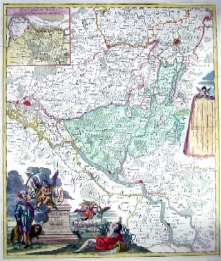 Homann  Ducatus Lauenburgici
