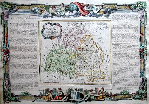 Brion de la Tour/ Desnos L./ L.C. Circles de Bavire, de Franconie et Souabe