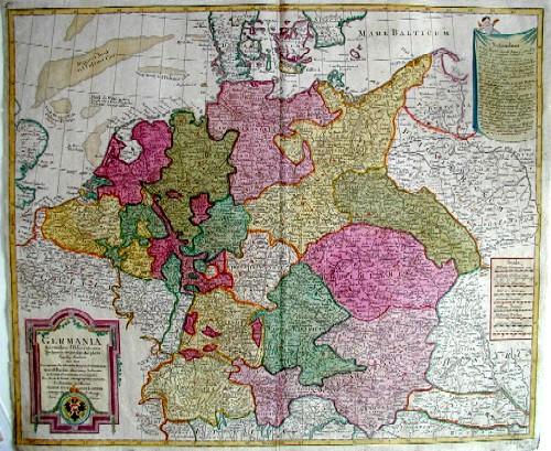 Lotter  Germania secundum observationes tychones de brahe,….