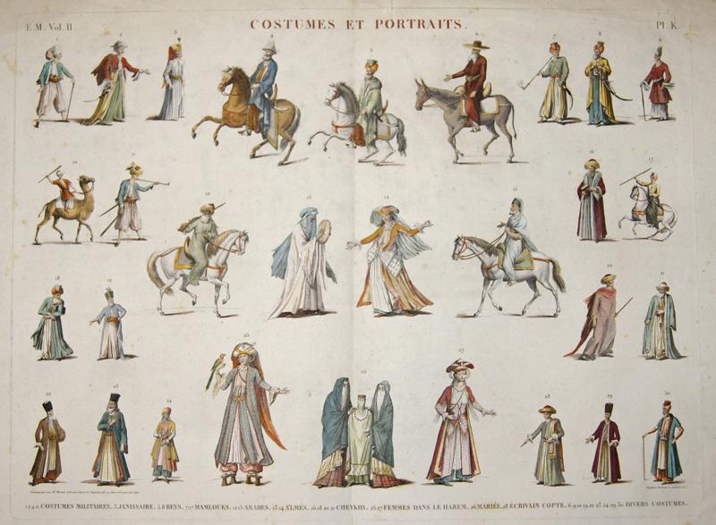 Duplessis-Bertaux Jean Costumes et Portraits. E. M. Vol. II.