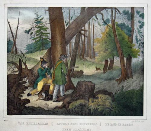 Scholz  Das Rehblatten/ Appeau pour chevreuils / De Jagd op Reeen /Deer stalking