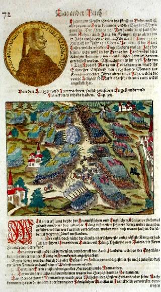 Münster Sebastian Von den Kriegen und zwytrachten so sich zwischen engelandt und frankreich erhebt haben