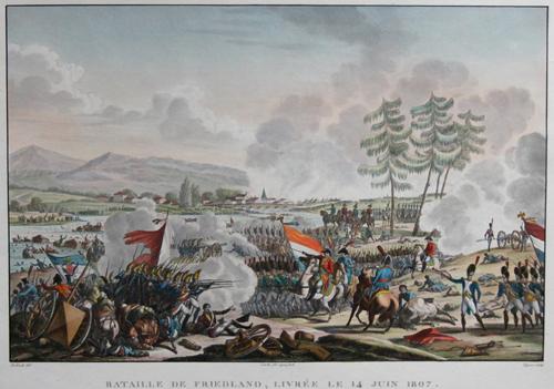 Swebach  Bataille de Friedland, livree le 14 juin 1807