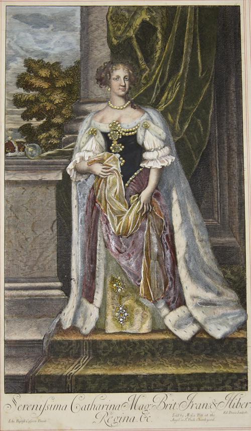 Gaspars  Serenissima Catharina Mag. Brit: Fran: & Hiber: Regina.