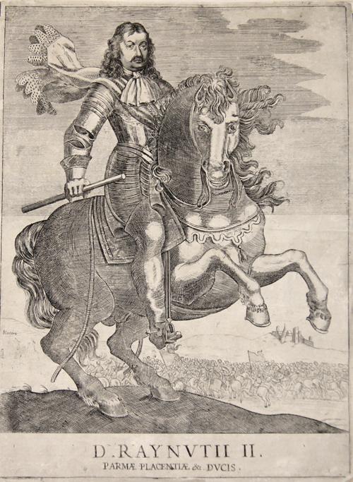 Anonymus  D. Raynutii II. Parmae Placentiae & Ducis.