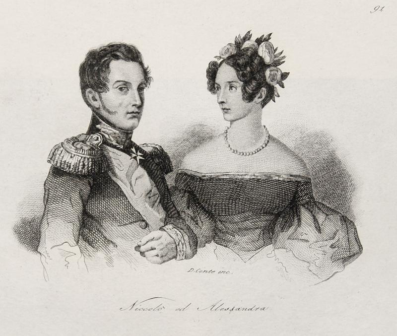 Conte  Russia; Niccolò ed Alessandra