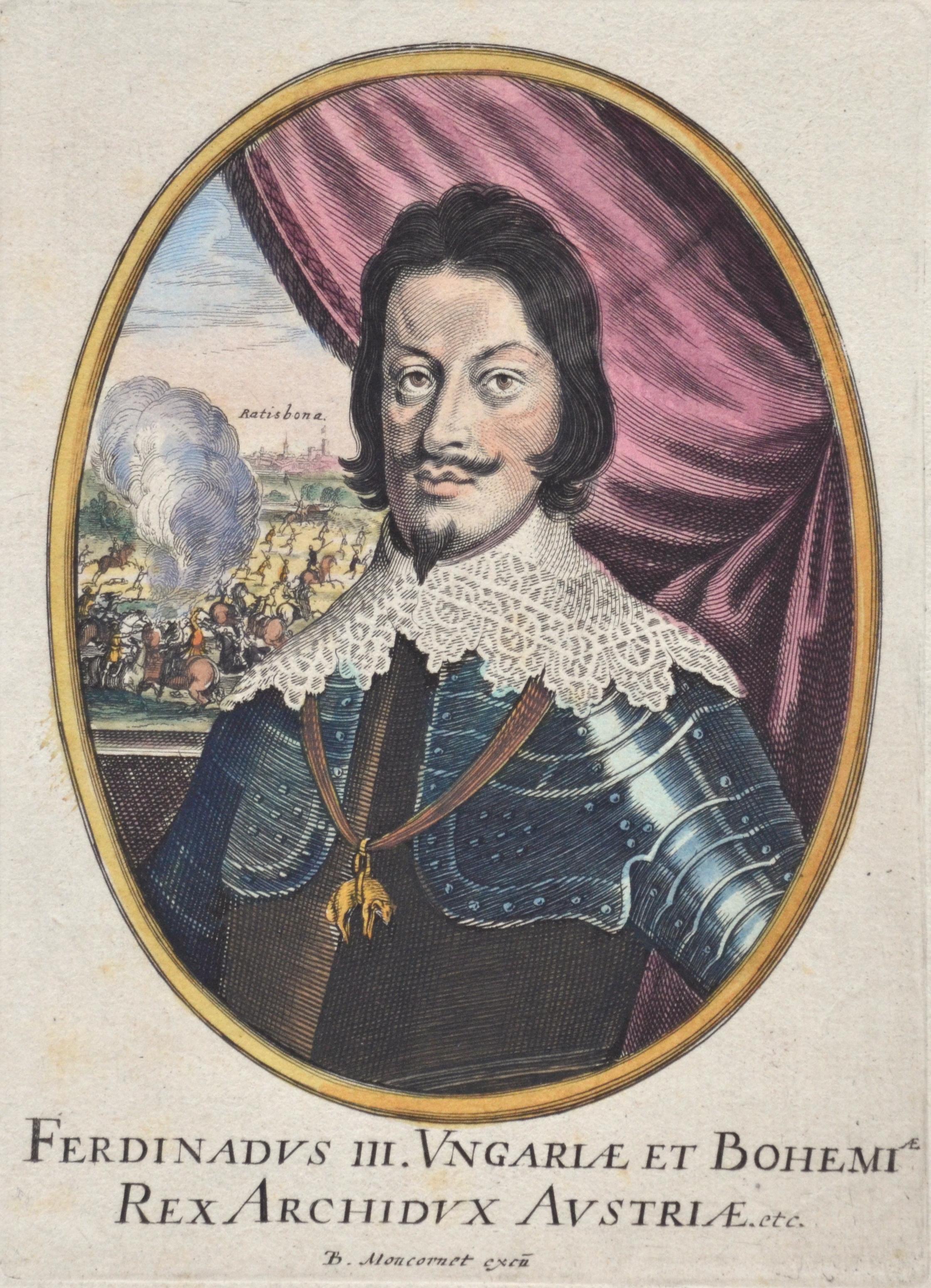 Moncornet  Ferdinadus III. Ungariae et Bohemiae Rex Archidux Austriae etc.