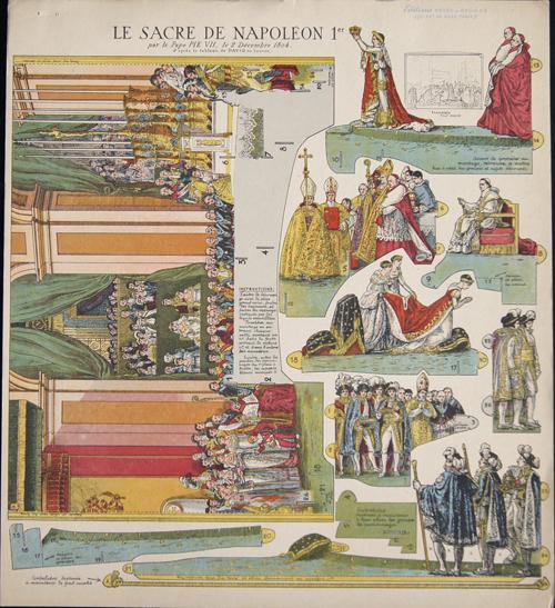 Anonymus  Le Sacre de Napoléon 1er par le Pape PIE VII, le 2 Décembre 1804.