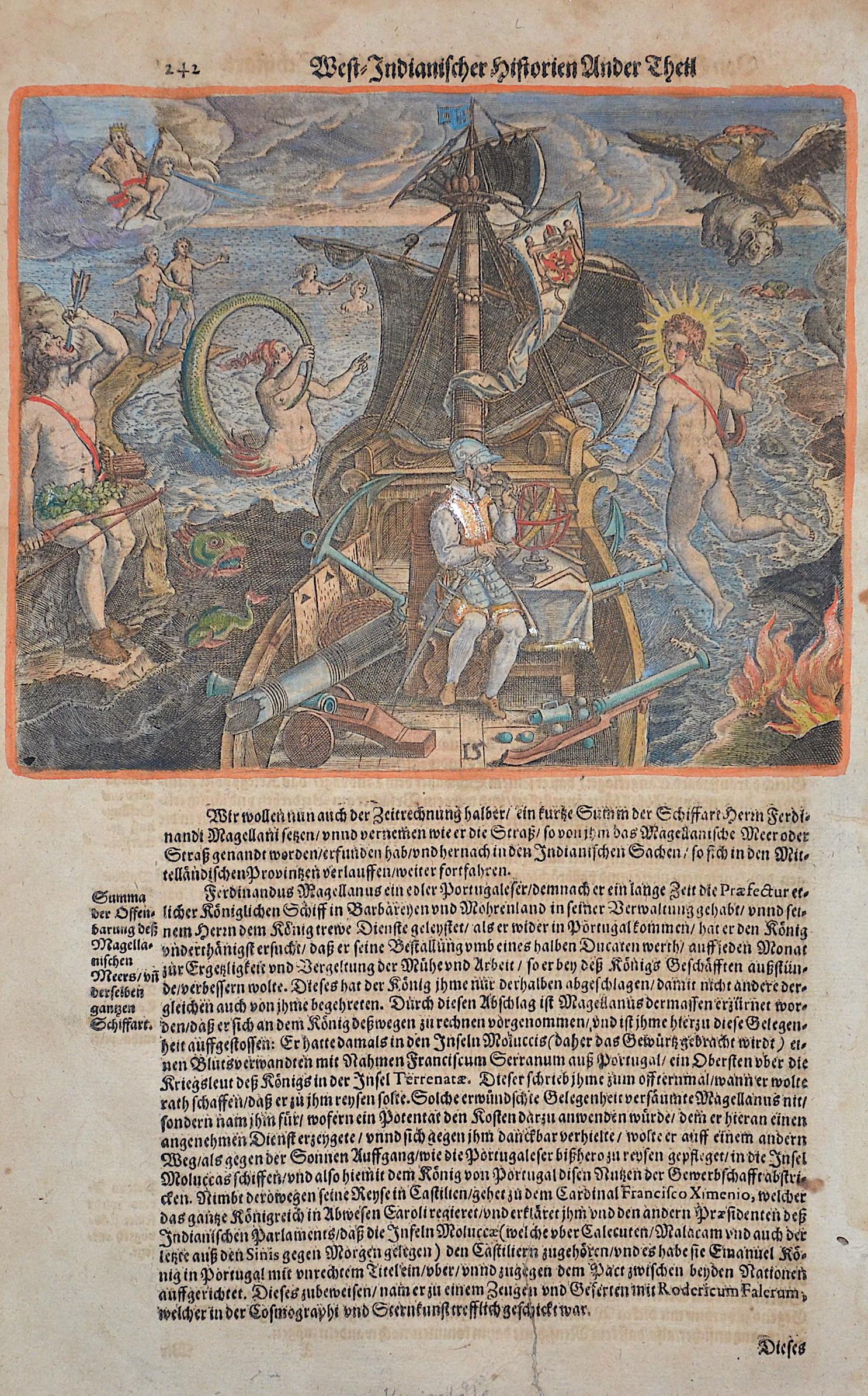 Bry, de Theodor, Dietrich West-Indianischer Historien Ander Theil