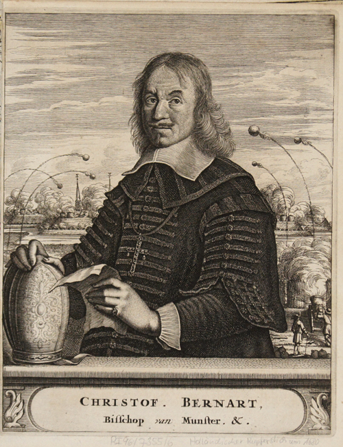 Anonymus  Christof. Bernart, Bisschop van Munster. &.