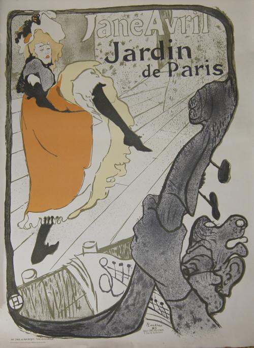 Stedelijk  Jane Avril Jardin de Paris