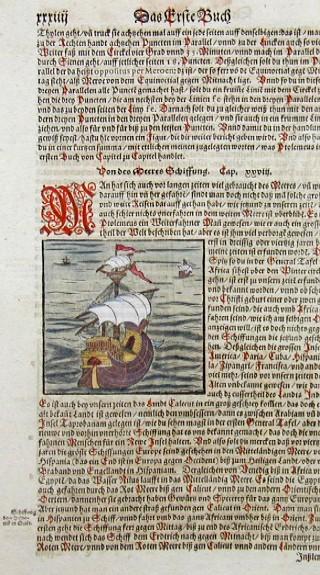 Münster Sebastian Von des Meeres Schiffung