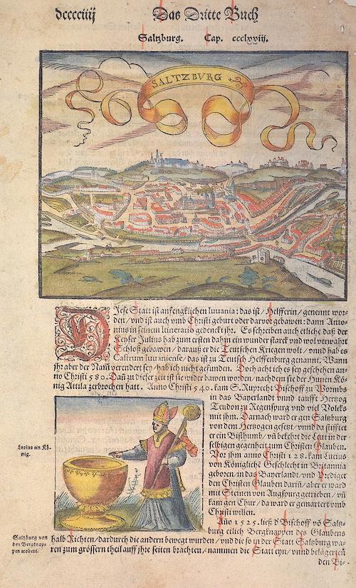 Münster Sebastian Das dritte Buch Salzburg