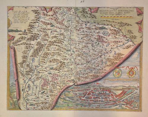 Ortelius  Salisburgensis Ivrisdictionis, …