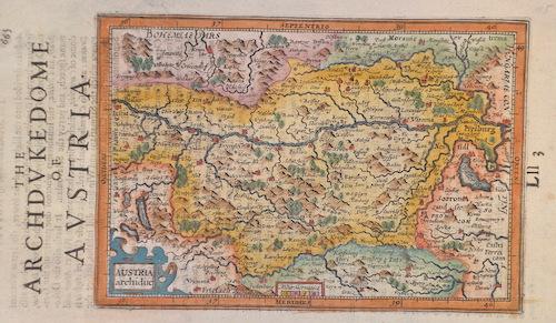 Hondius/Sparke  Austria archiduc