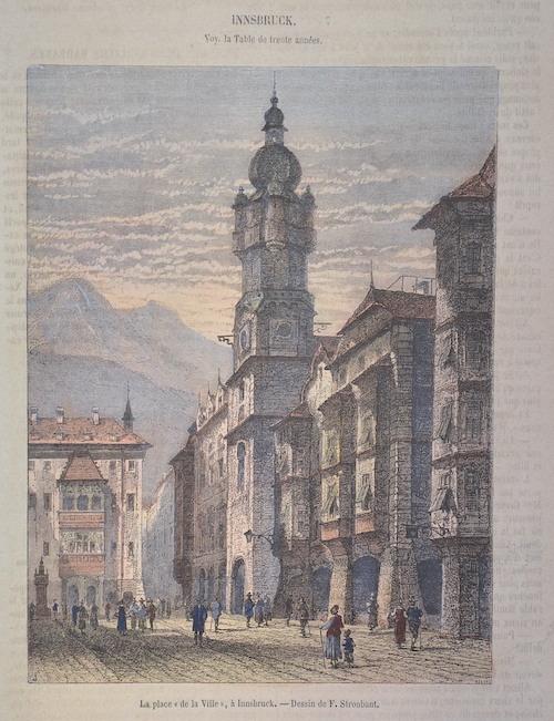 Strobant L. L place ( de la ville) á Innsbruck