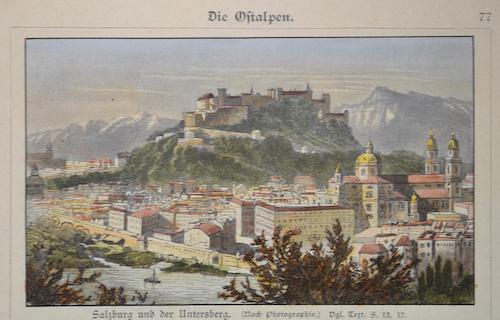 Anonymus  Salzburg und der Untersberg