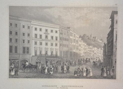 Kunstanstalt Hildburghausen  Mozarts Geburtshaus in Salzburg