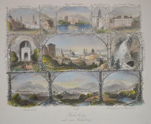Payne Albert Henry Salzburg und seine Umgebung