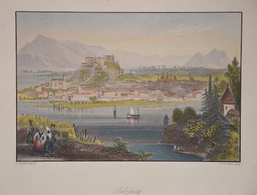 Payne Albert Henry Salzburg. Birth- place of Mozart