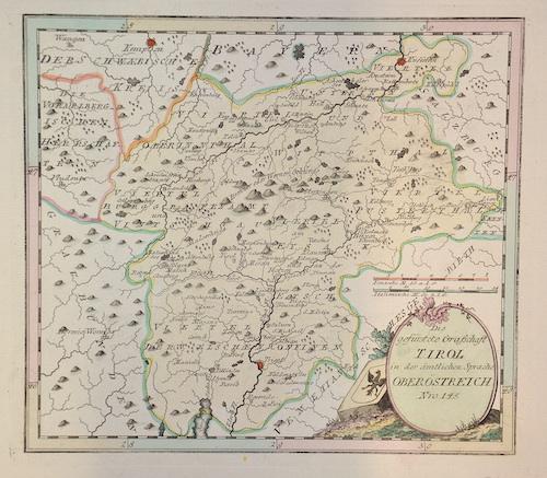 Weigel Christoph Die gefürstete Grafschaft Tirol in der ämtlichen Sprache Oberöstereich Nro. 145.