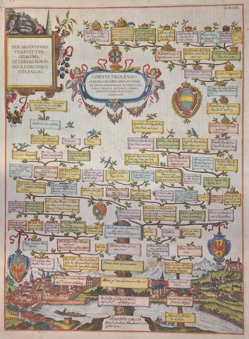 Albizzi  Comites Tirolenses.  Sereniss. Maximiliano Austriae..