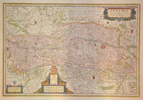 Janssonius/Mercator-Hondius, H. Johann Austria archiducatus
