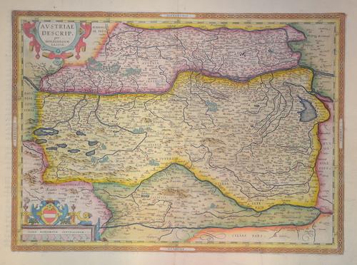 Ortelius  Austriae descript