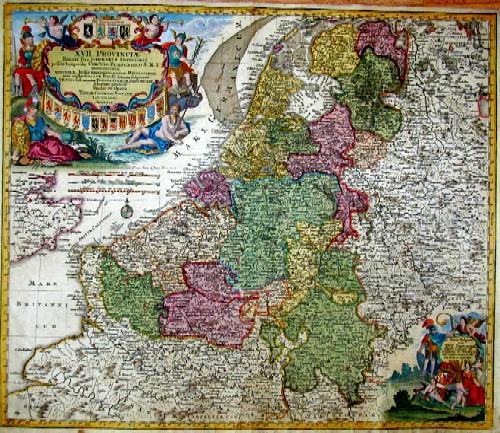 Lotter Tobias Conrad XVII Provinciae Belgii sive Germaniae inferioris Briscis temporiw circulu Burgundicu S.R.I…..