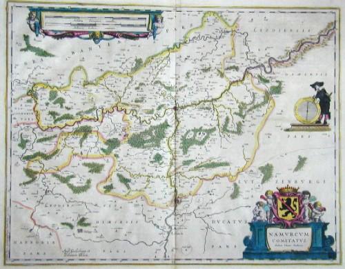 Blaeu Willem Janszoon Namurcum Cumitatos