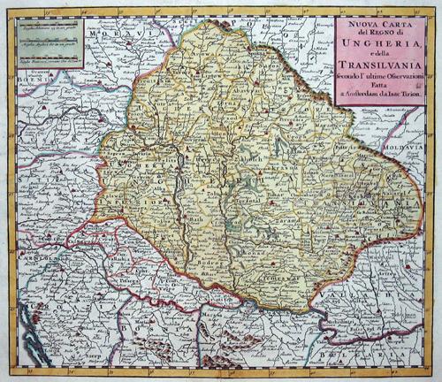 Tirion Isaak Nuova Carta del Ducato di Lucemburgo e della conteadi namur