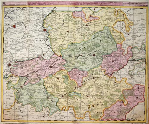 Valk Gerard Hannonia comitatus, in Praeposituris Montensi, Valentianensi, Quercetensi, Bavacensi …….