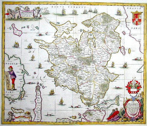 Moses  Selandiae in Regno Daniae Insulae corographica descriptio