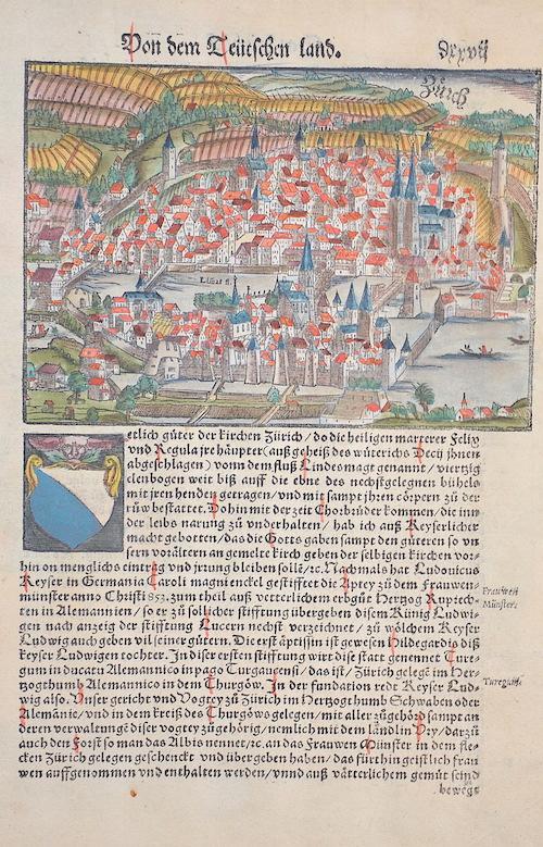 Münster Sebastian Von dem Teutschen land