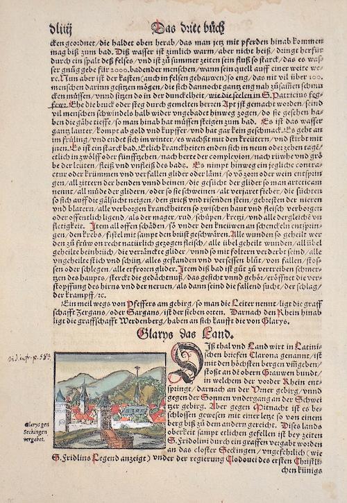 Münster  Glarys das land