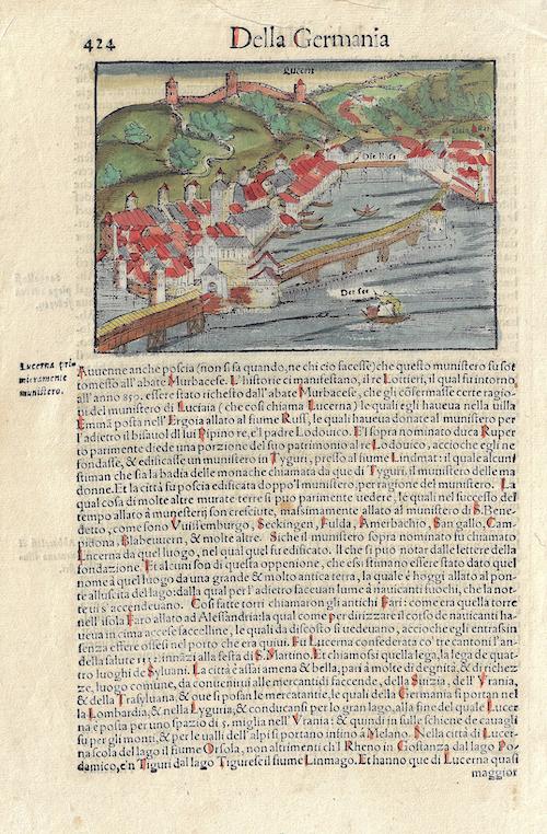 Münster  Von der Statt Lucern
