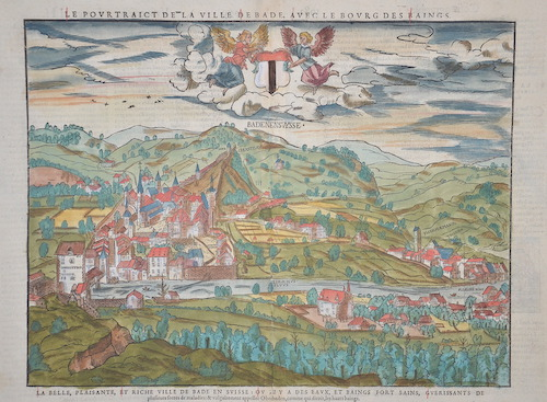 Münster Sebastian Obern Baden/Statt Baeder/nach ihrer Gelegenheit auff das allerfleissigest contasehtet