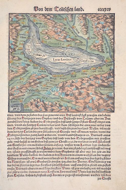 Münster Sebastian Von dem deütschen land