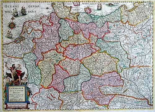 Hondius Hendrik Germaniae nova et accurata delineato…