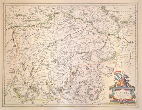 Blaeu Willem Janszoon Bavaria Ducatus